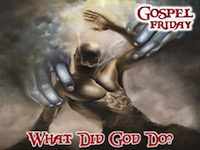 What Did God Do Night Logo