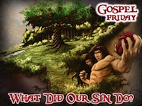 What Did Our Sin Do Night Logo